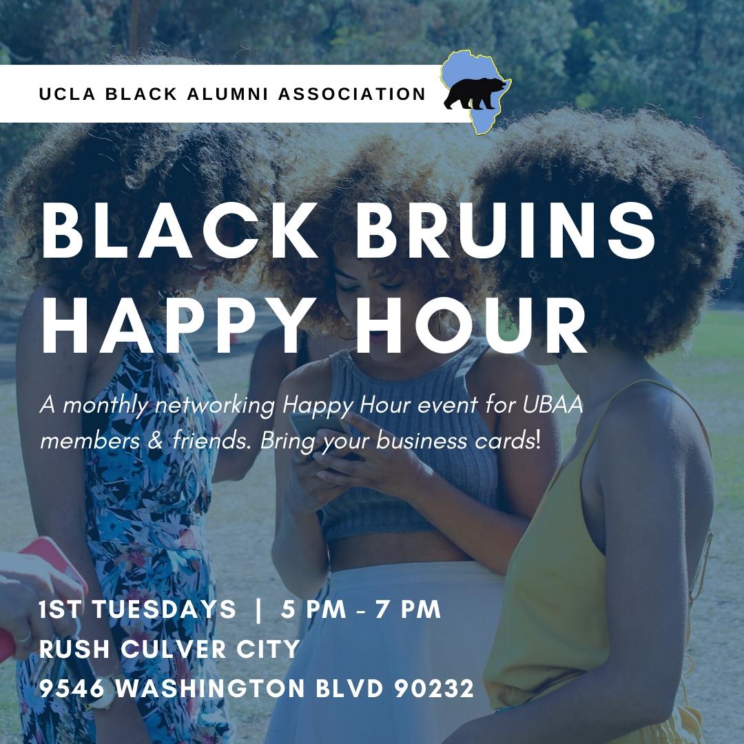 Black Bruins Happy Hour