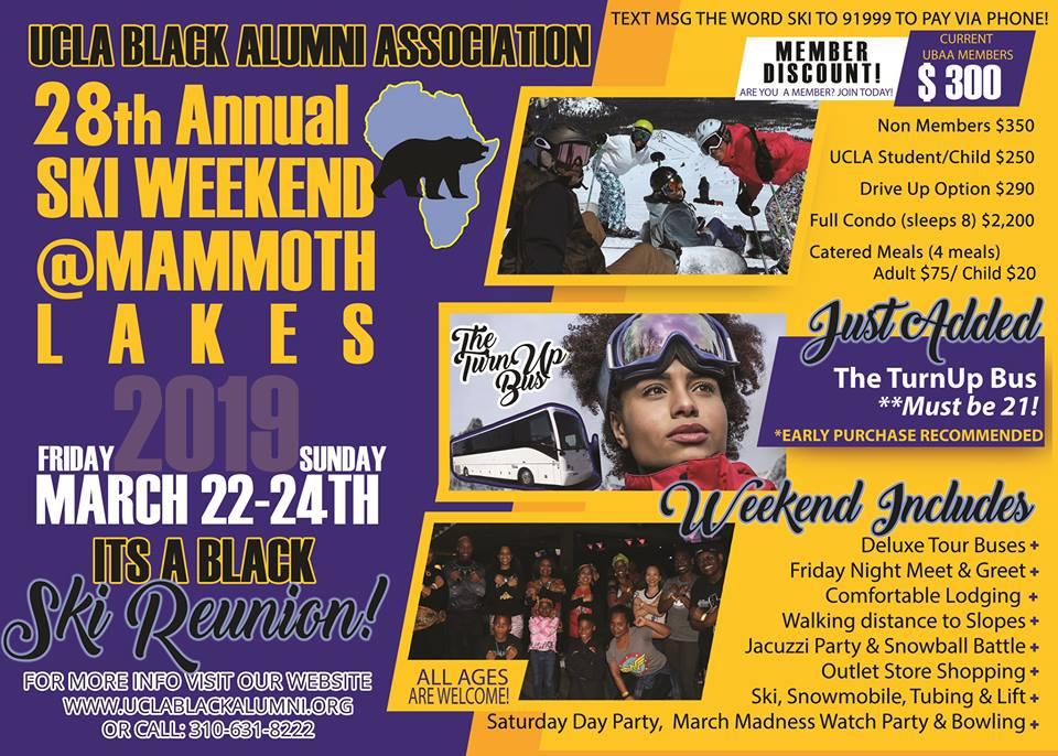 28th Annual UBAA Black Ski Weekend