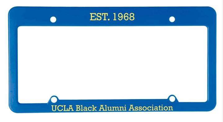UBAA License Plate Holder
