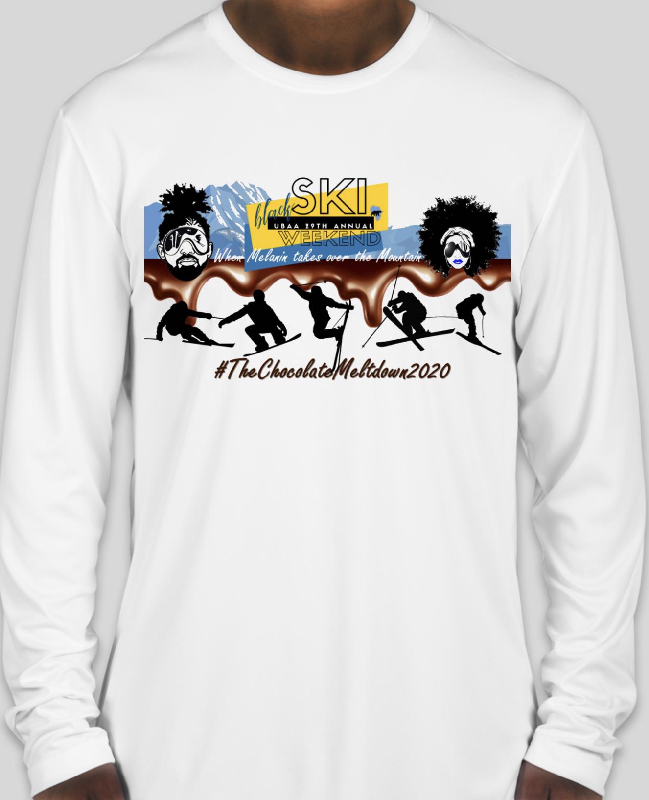 29th Annual Black Ski Weekend Long Sleeve T-Shirt