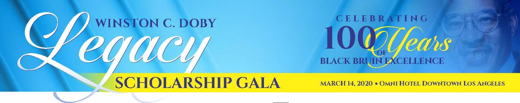 Winston C. Doby Legacy Scholarship Gala Ad Book