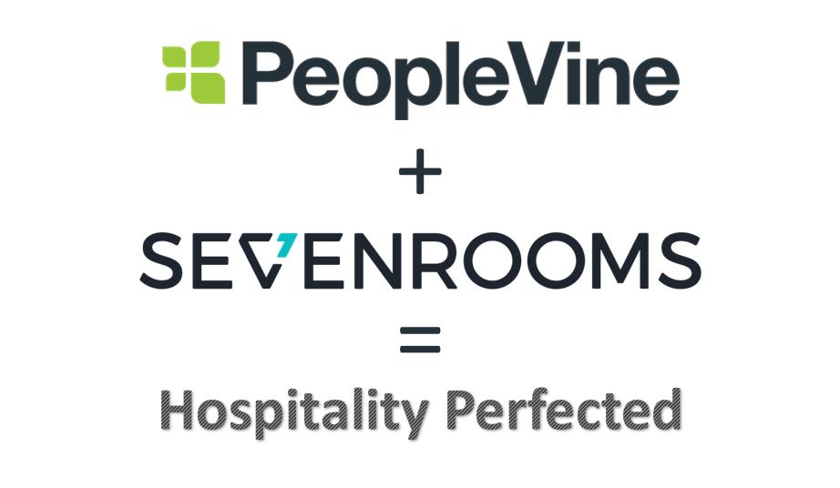 PeopleVine + SevenRooms = Hospitality Perfected photo