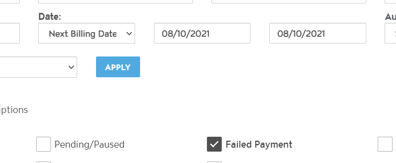 We will Automatically Retry Subscriptions that Failed 3 Days Ago and 7 Days Ago photo