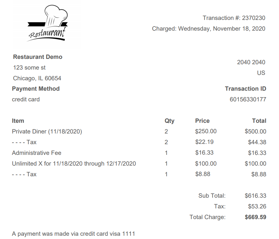 Updated PDF Receipt, Better Subscription Billing Reporting and More photo