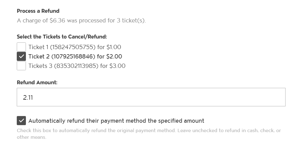 Improvements to Refunding Event Tickets photo