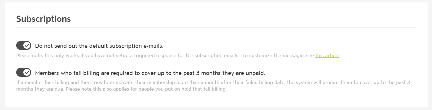 Capture up to 3 Months Past Due When Members Don't Renew After Billing Fails photo