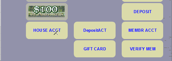 Using the House Account Payment Option at the POS photo