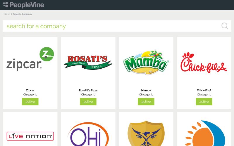 company select