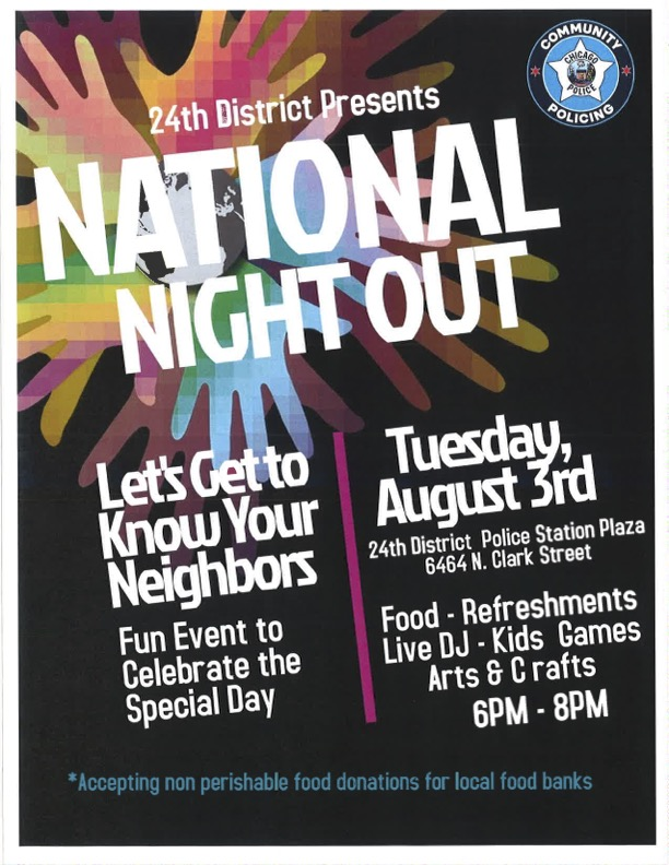 National Night Out - 24th District