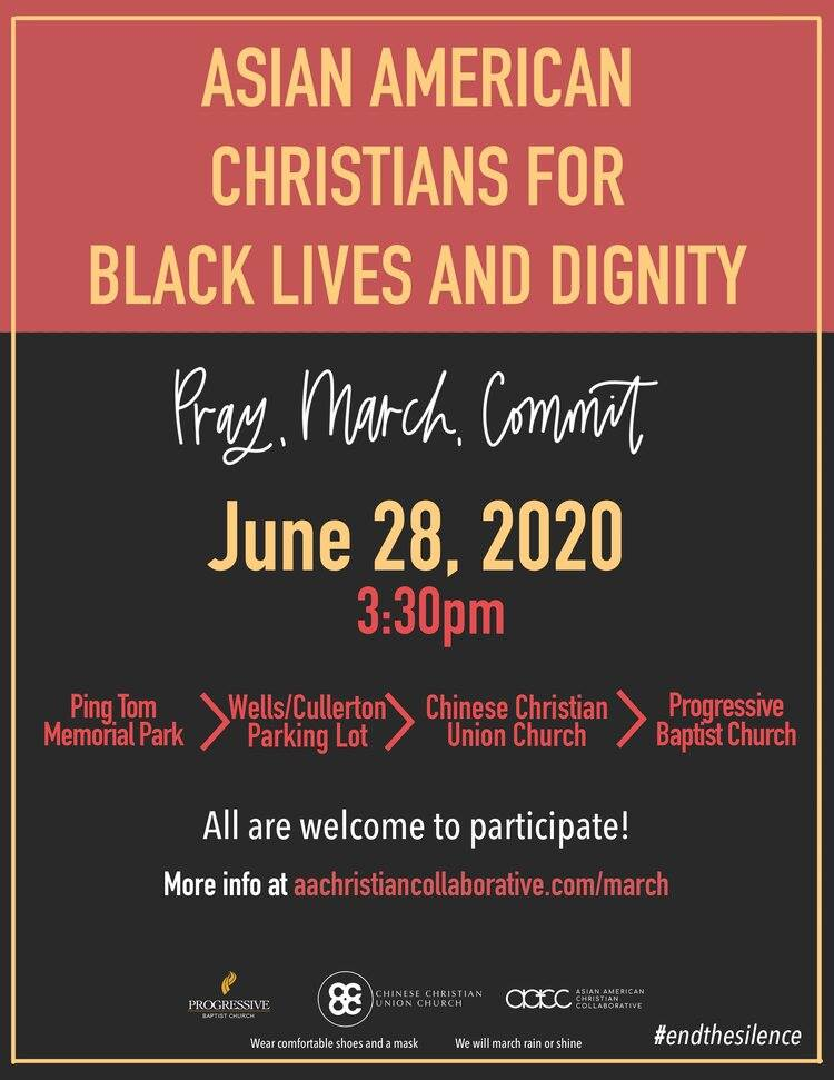 Pray, March, Commit: AAC for Black Lives & Dignity