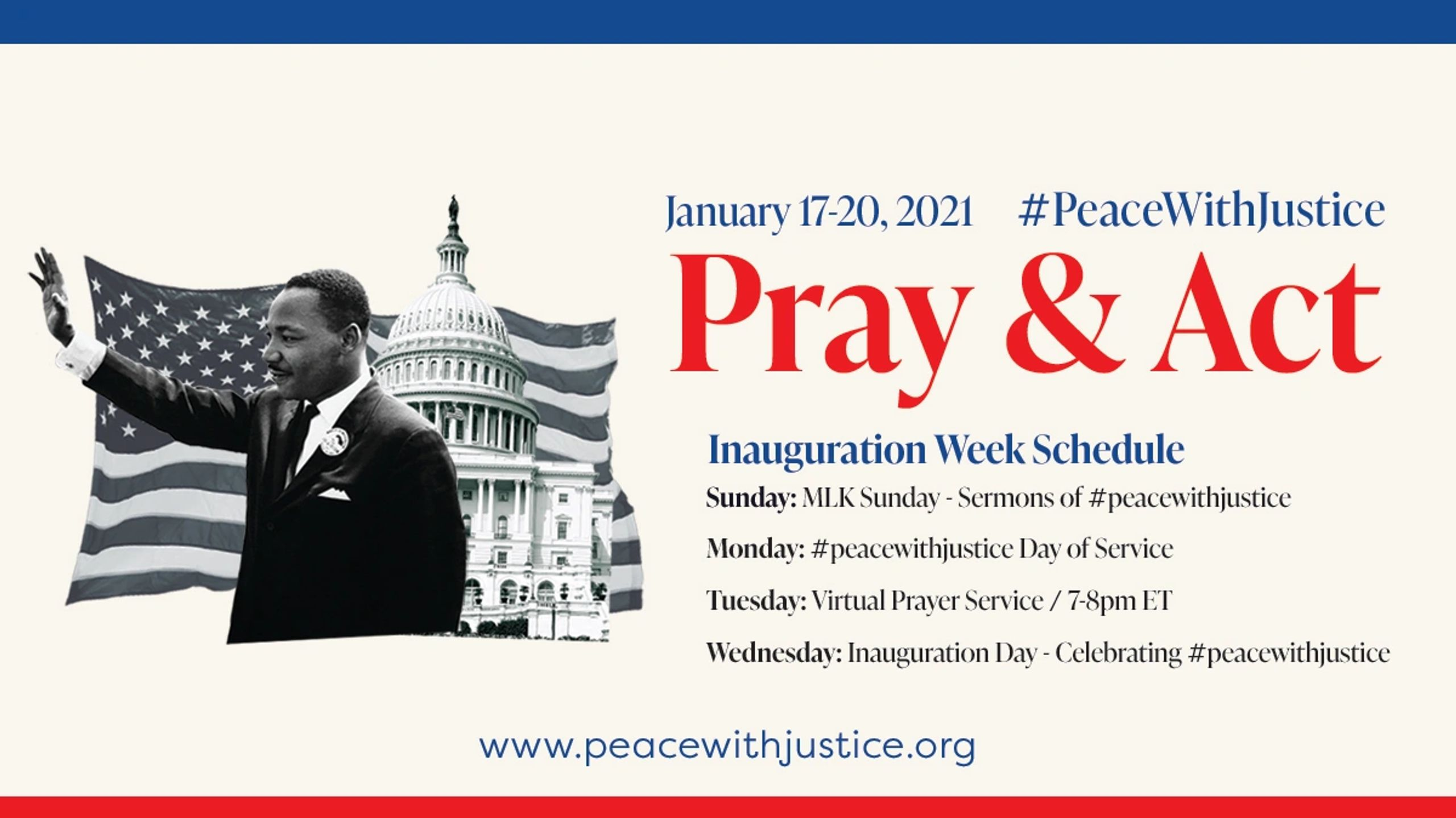 #PeacewithJustice Virtual Prayer Gathering