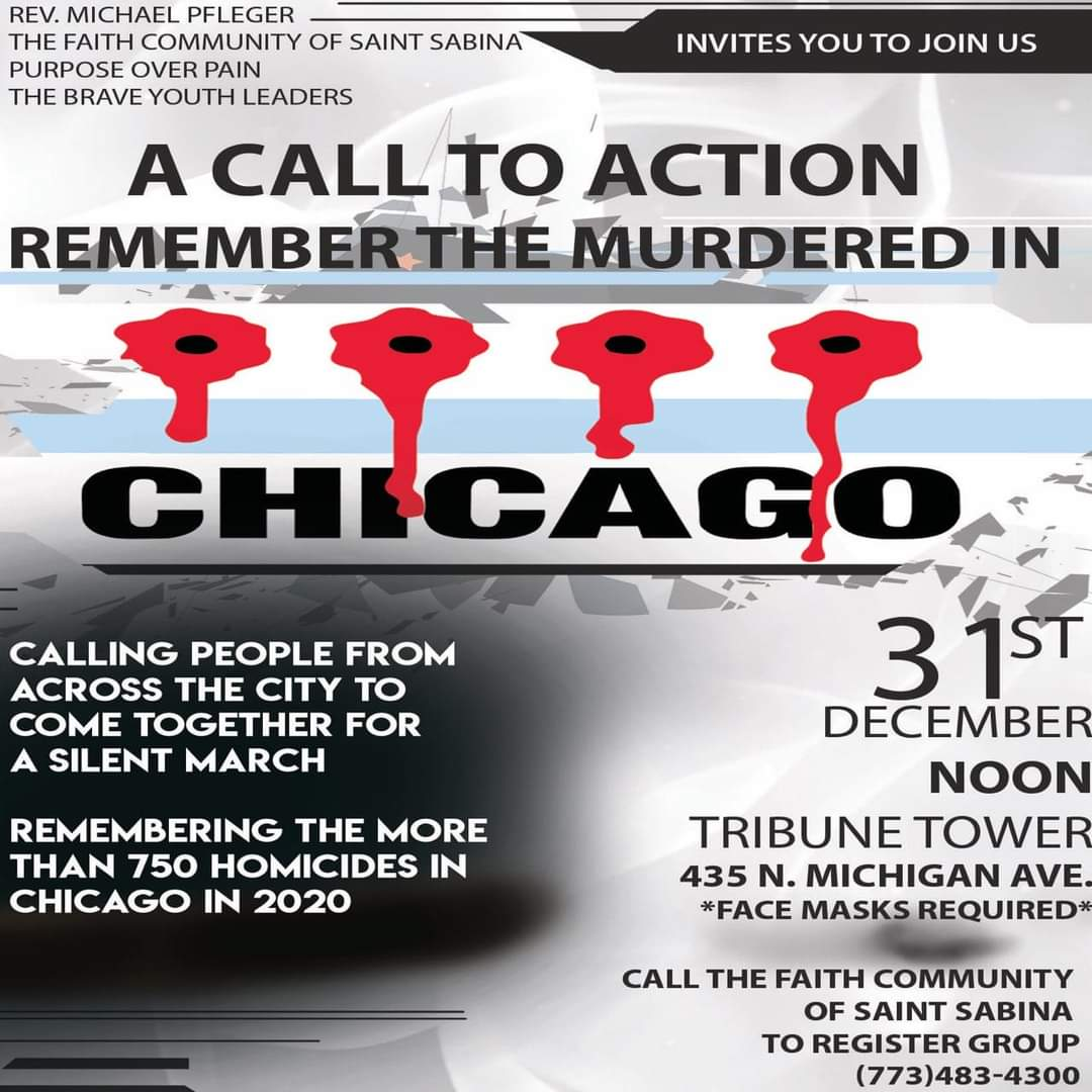 A Call to Action — Remember the Murdered in Chicago