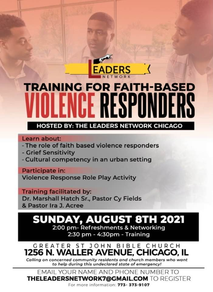 Training for Faith-Based Violence Responders
