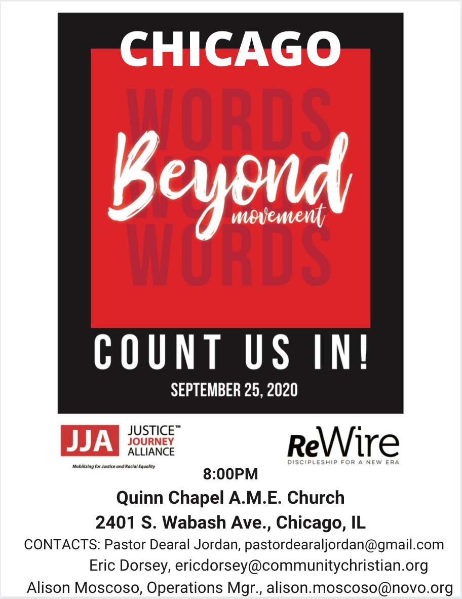 BEYOND WORDS: Count Us In Info session