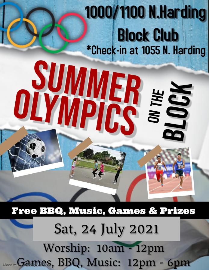 Summer Olympics On the Block