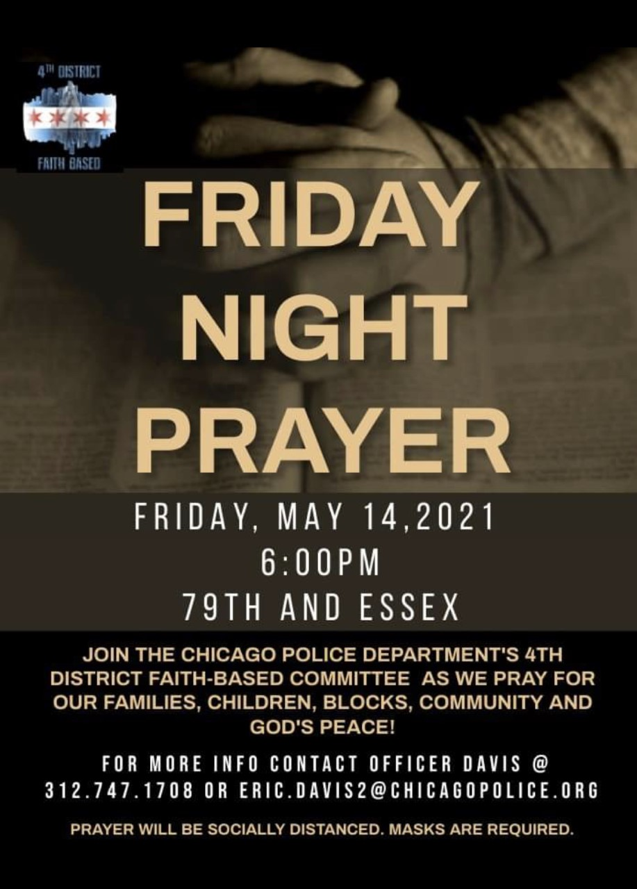 Friday Night Prayer (4th District)