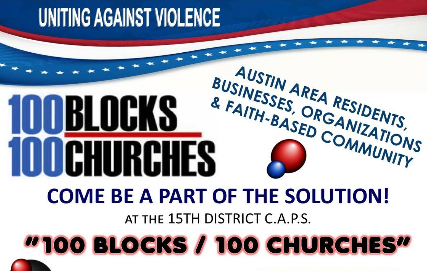 100 Blocks, 100 Churches (15th District)