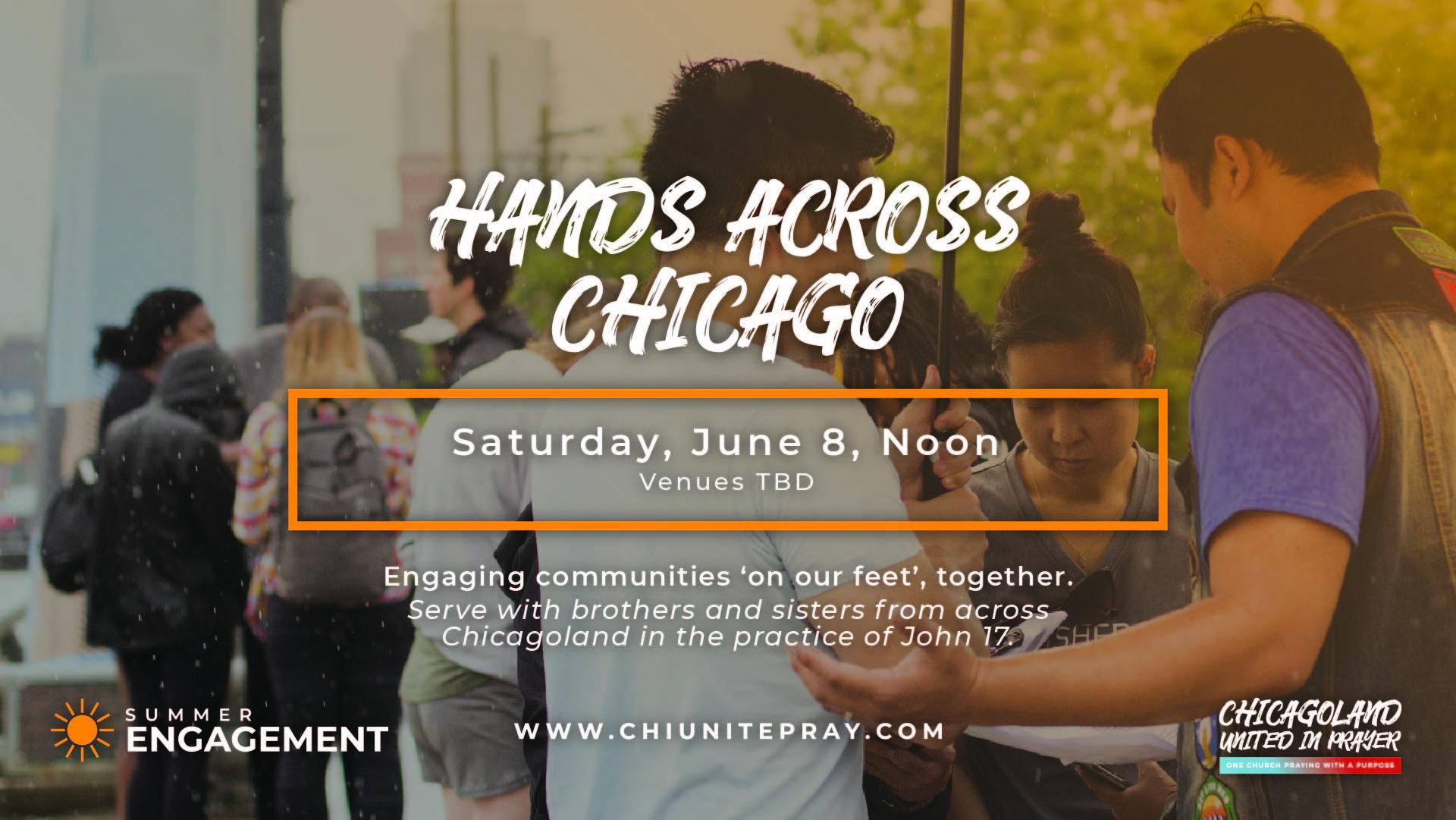 Hands Across Chicago 2019