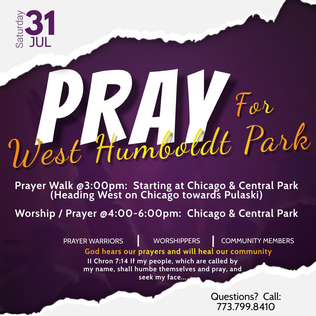 PRAY for West Humboldt Park