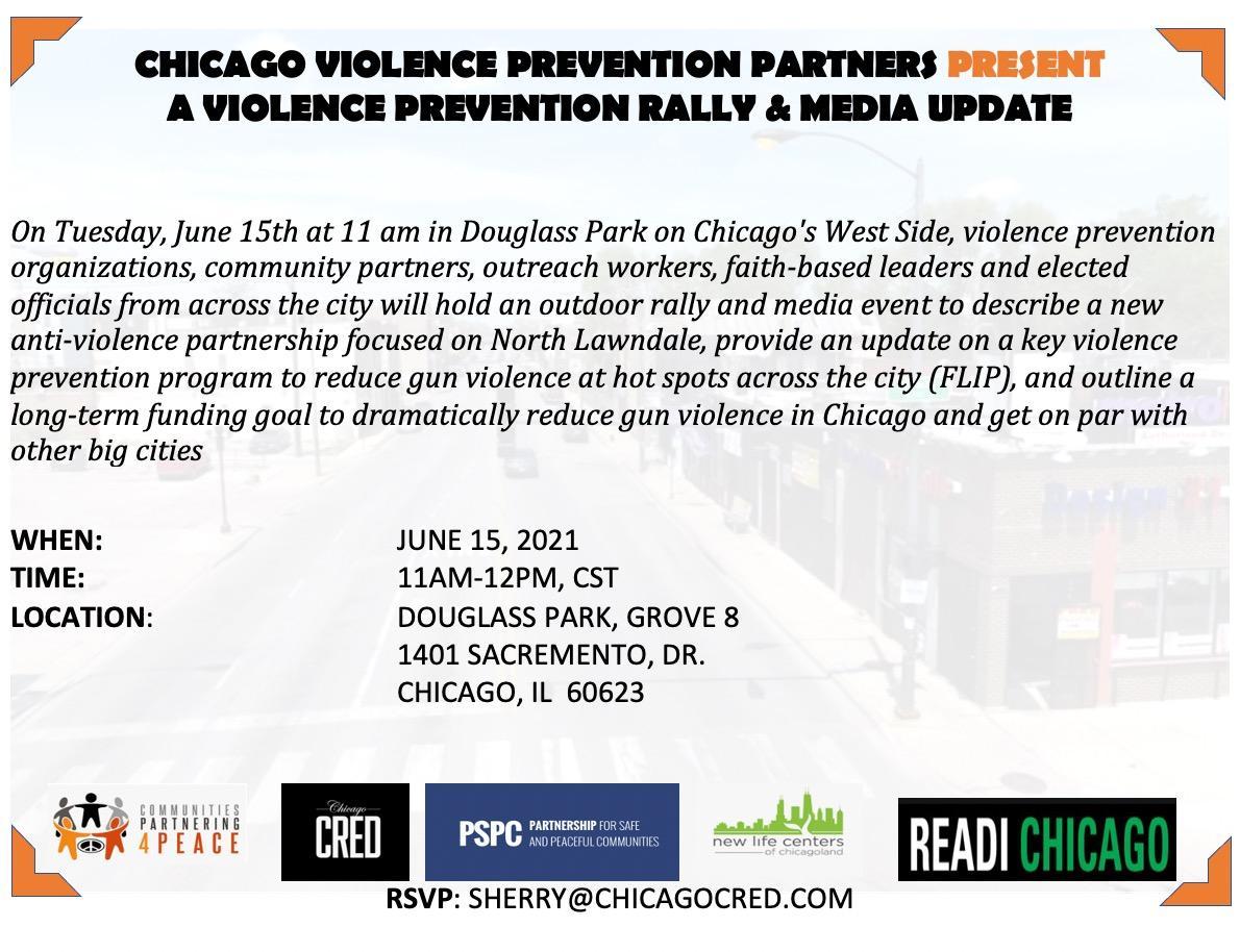 Violence Prevention Rally & Media Update