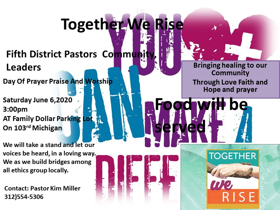 Together We Rise Day of Prayer