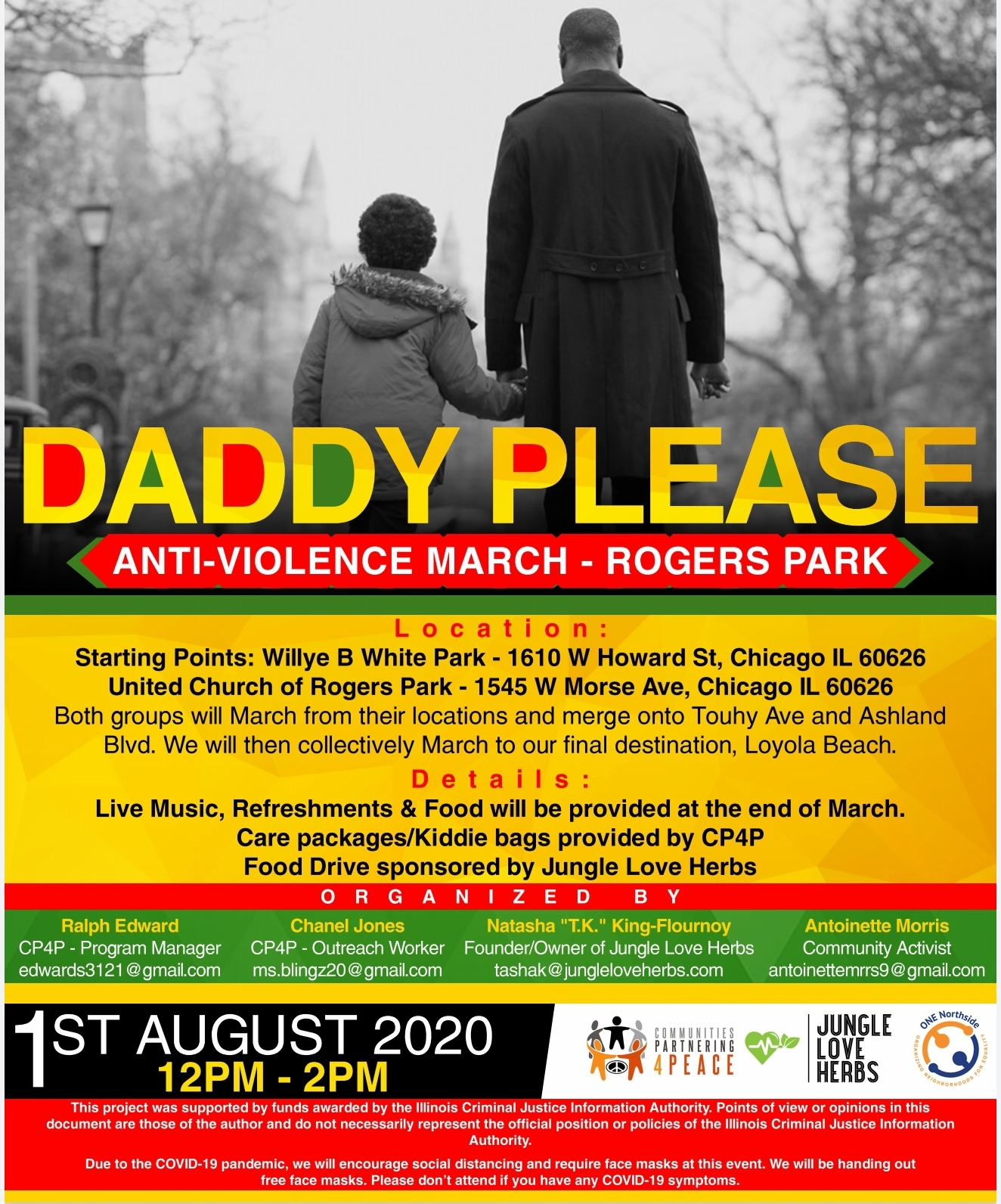 Daddy Please Anti-Violence March