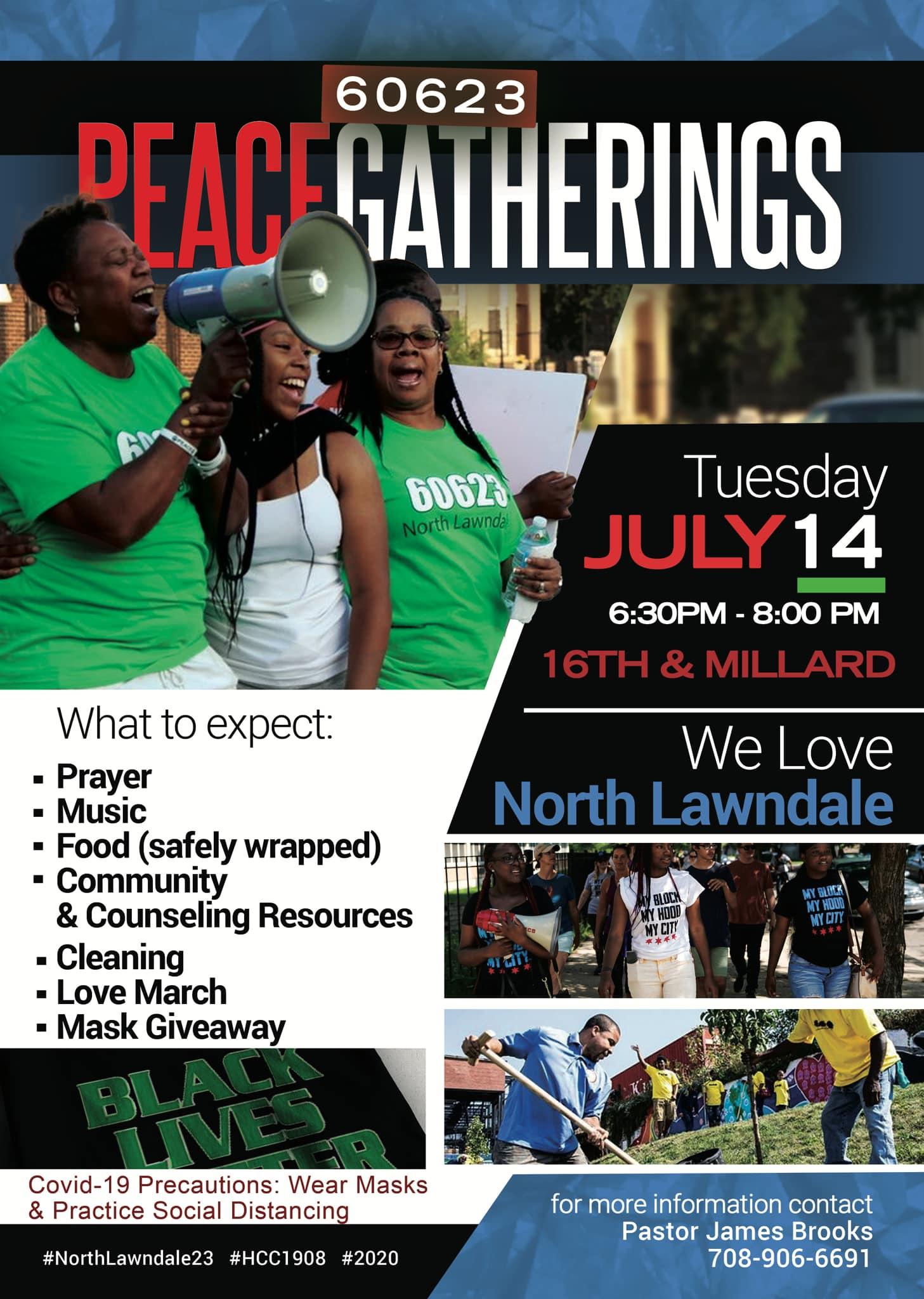 60623 Peace Gatherings