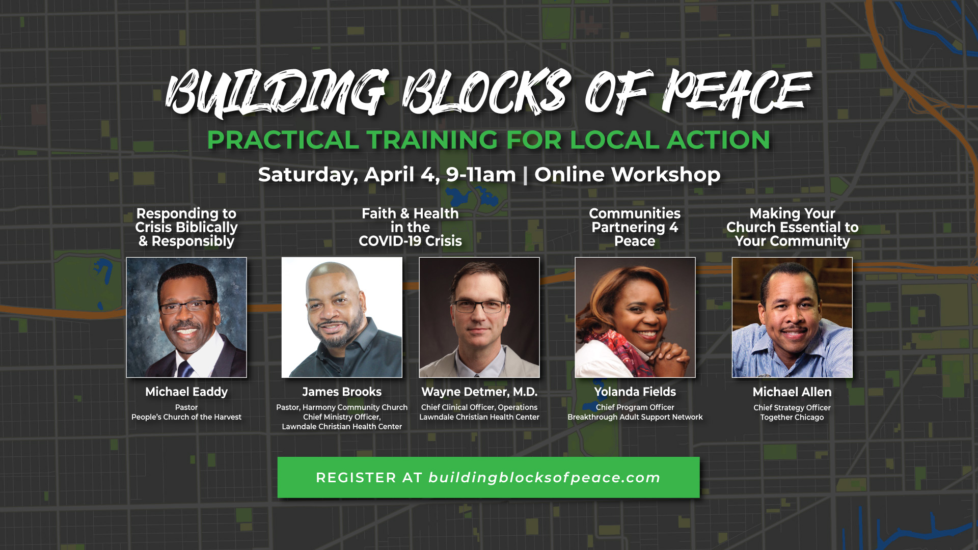 [ONLINE ONLY] Building Blocks of Peace Workshop 2020 #2 (WEST)