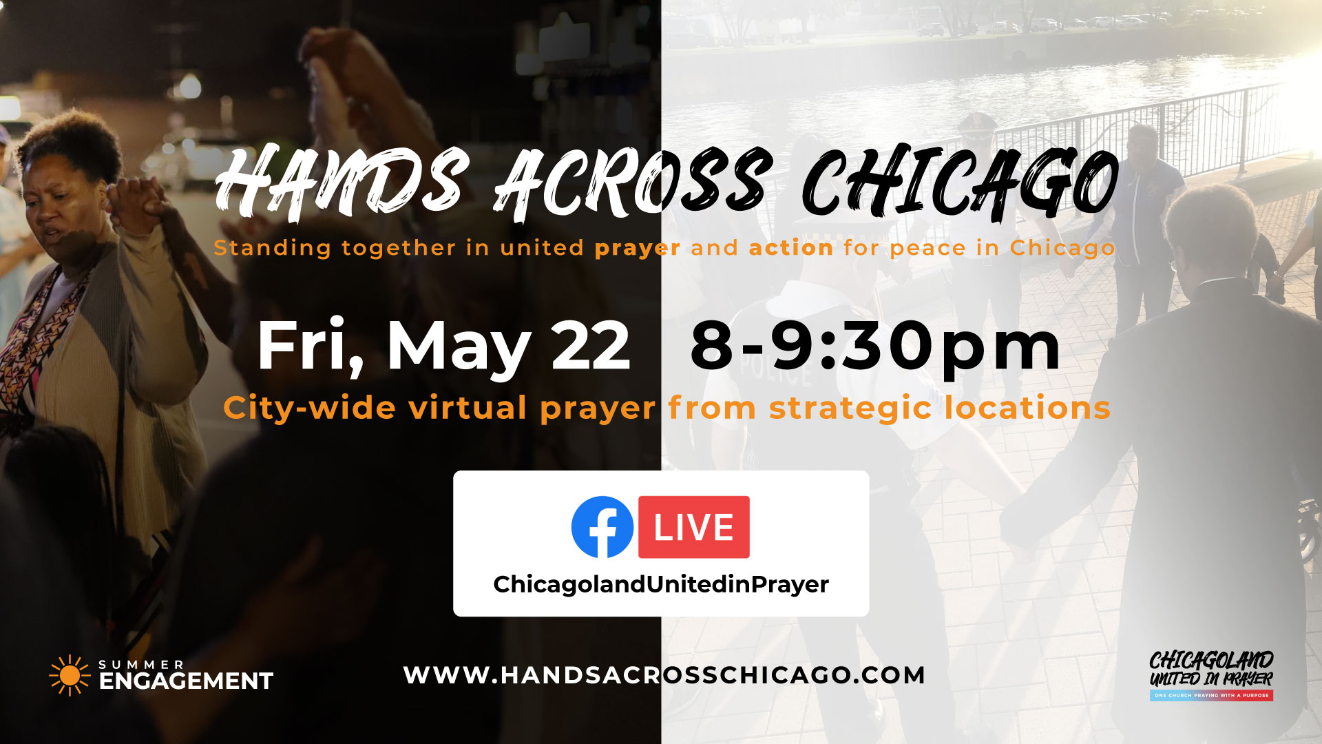 Hands Across Chicago 2020 (Virtual)