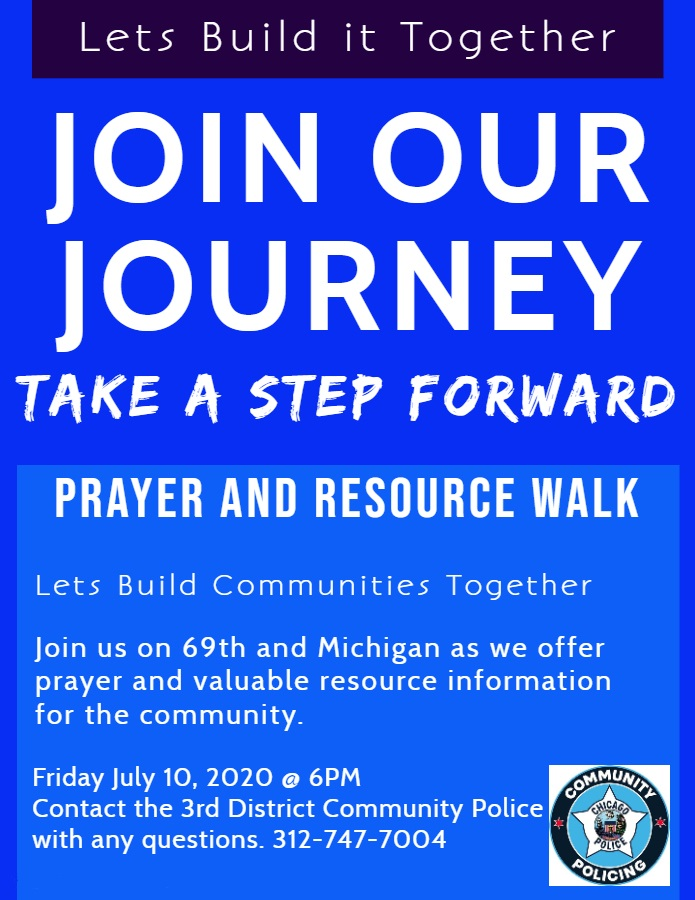 Prayer & Resource Walk