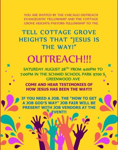 Jesus is the Way Outreach