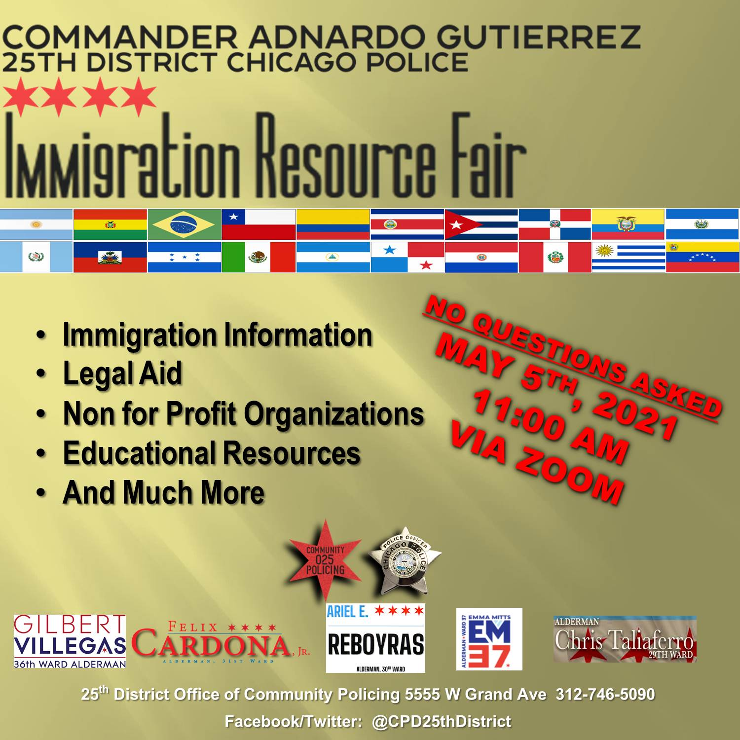 Immigration Resource Fair (Virtual)