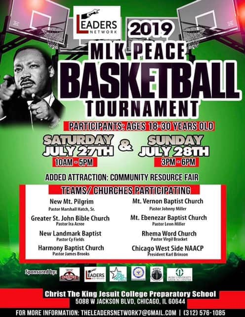 MLK Peace Basketball Tournament
