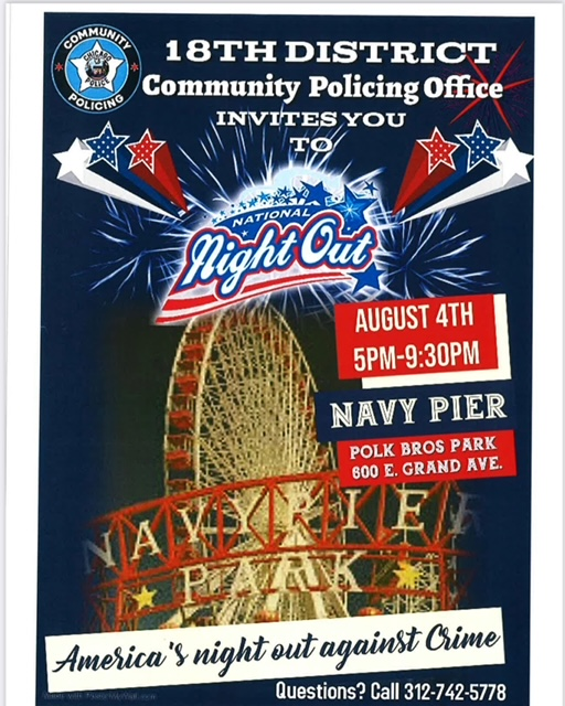 National Night Out - 18th District