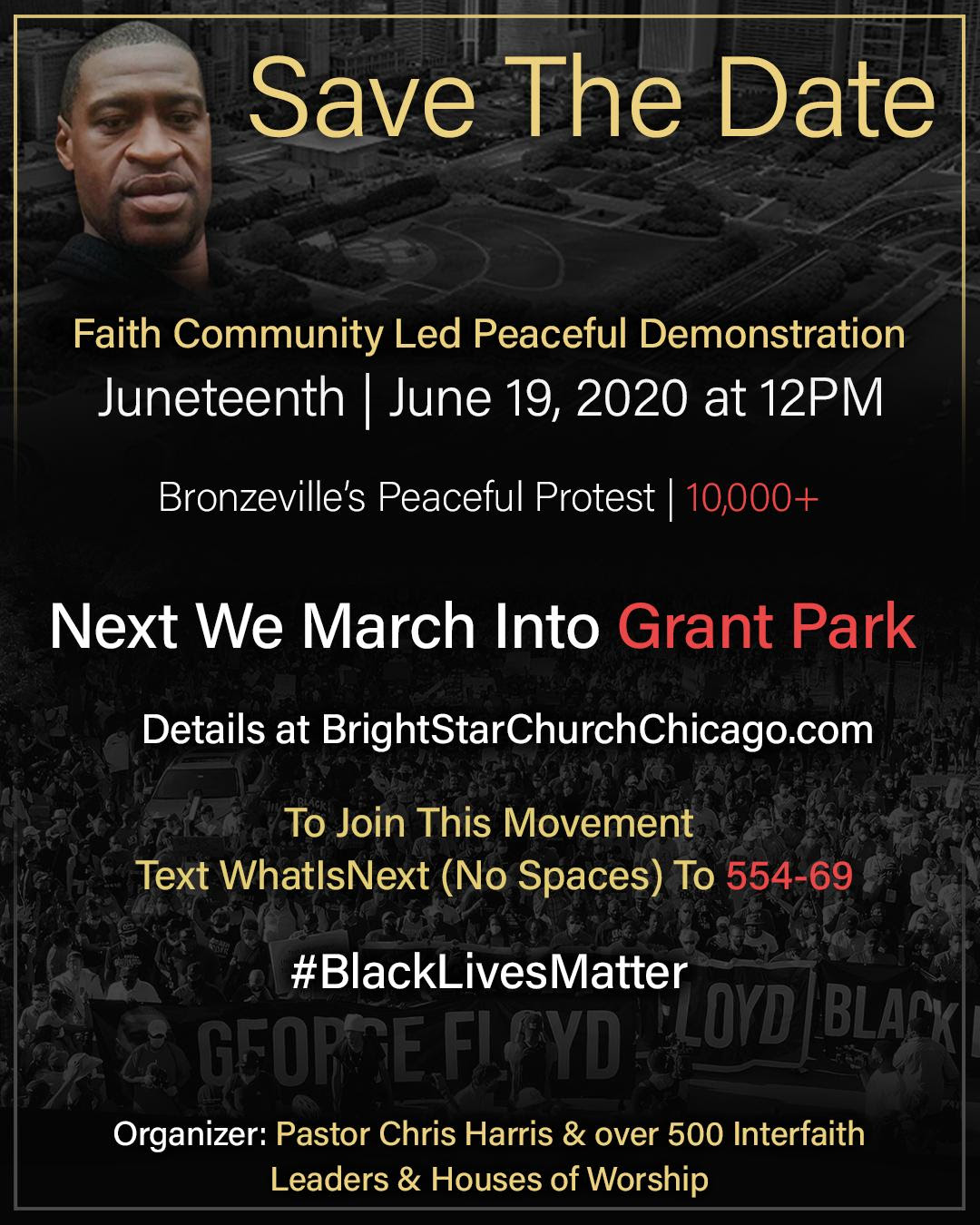 Faith Community Led Peaceful Demonstration