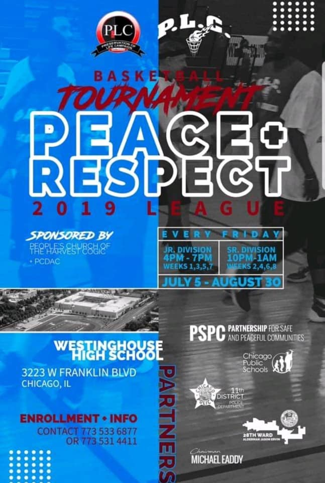 Peace & Respect Basketball Tournament 2019 League