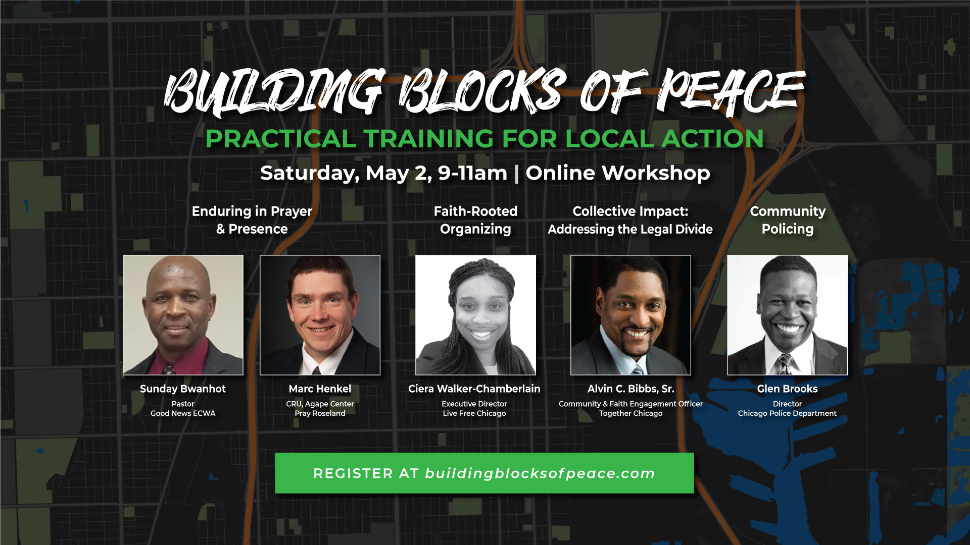 [ONLINE ONLY] Building Blocks of Peace Workshop 2020 #3 (SOUTH)