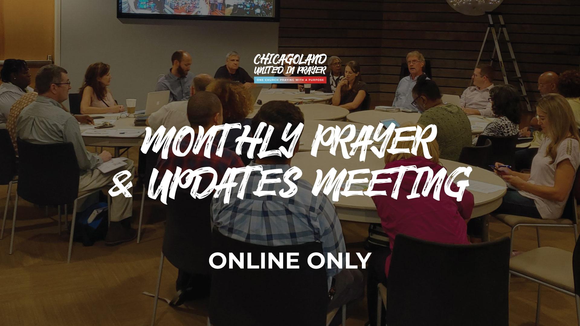CUIP Monthly Prayer & Updates Meeting [Virtual]