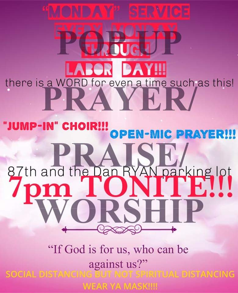 Pop-Up Prayer, Praise, and Worship