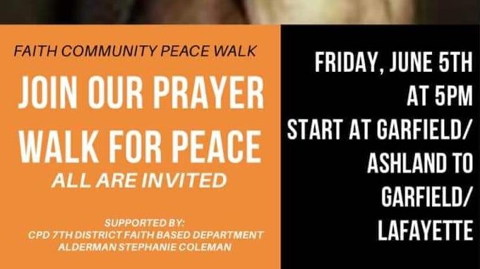Prayer Walk for Peace