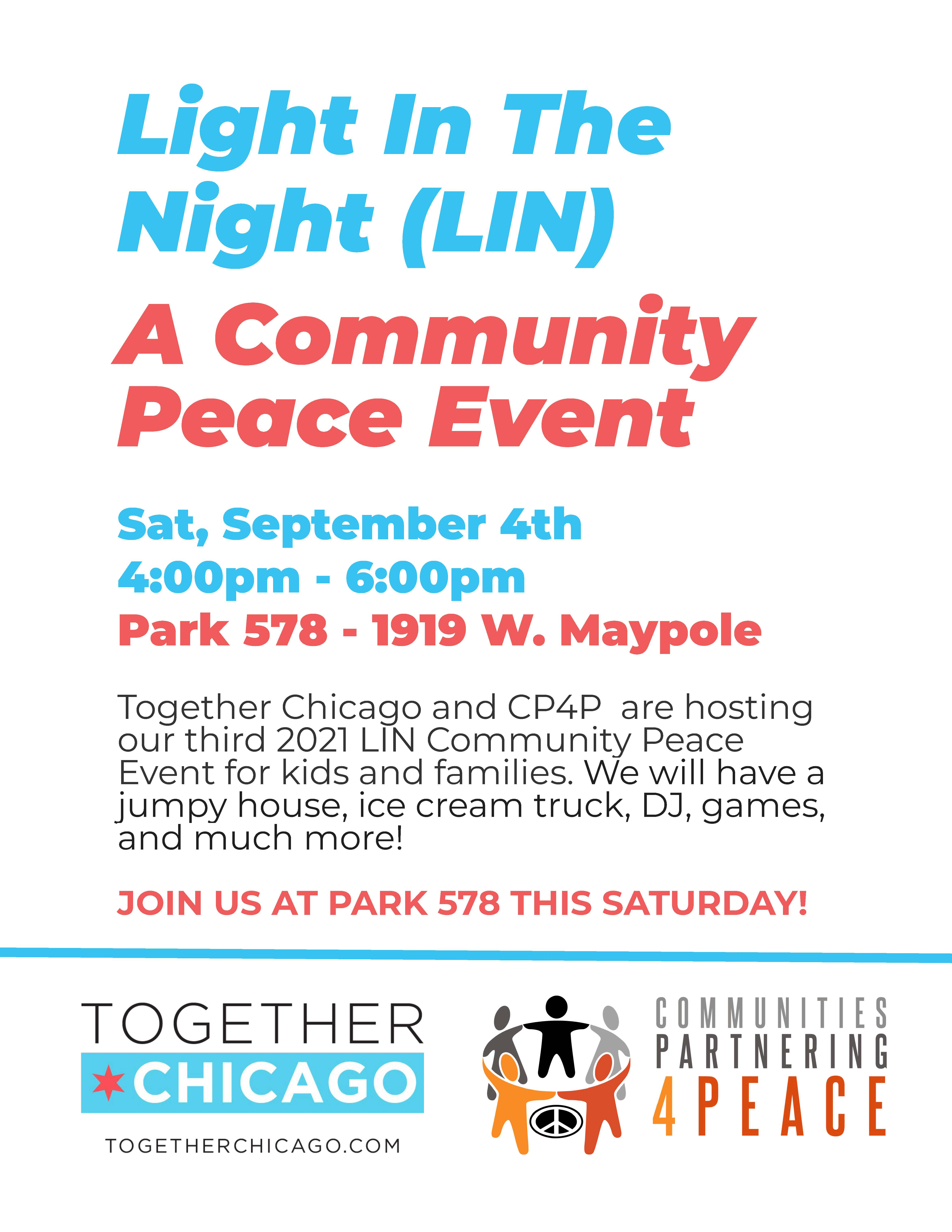 Westhaven Community Peace Event
