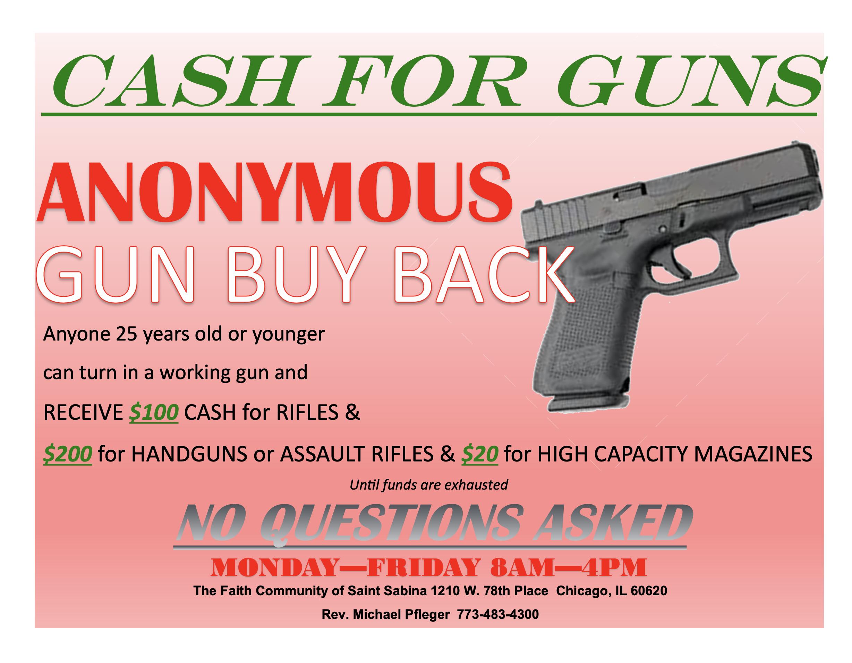 Anonymous Gun Buy Back