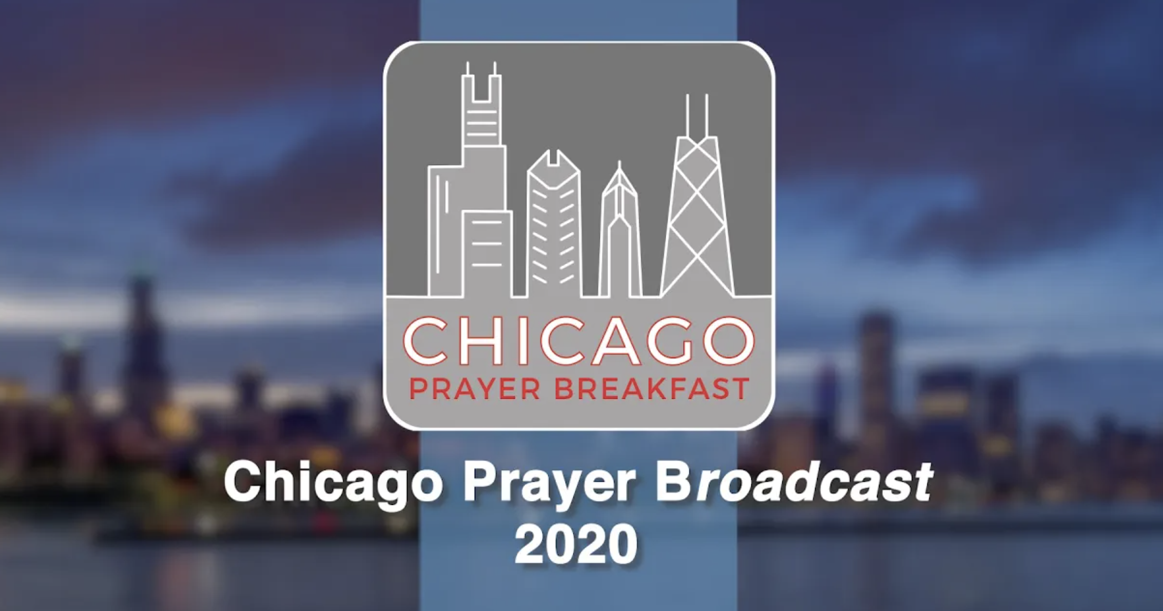 Chicago Prayer Breakfast 2020