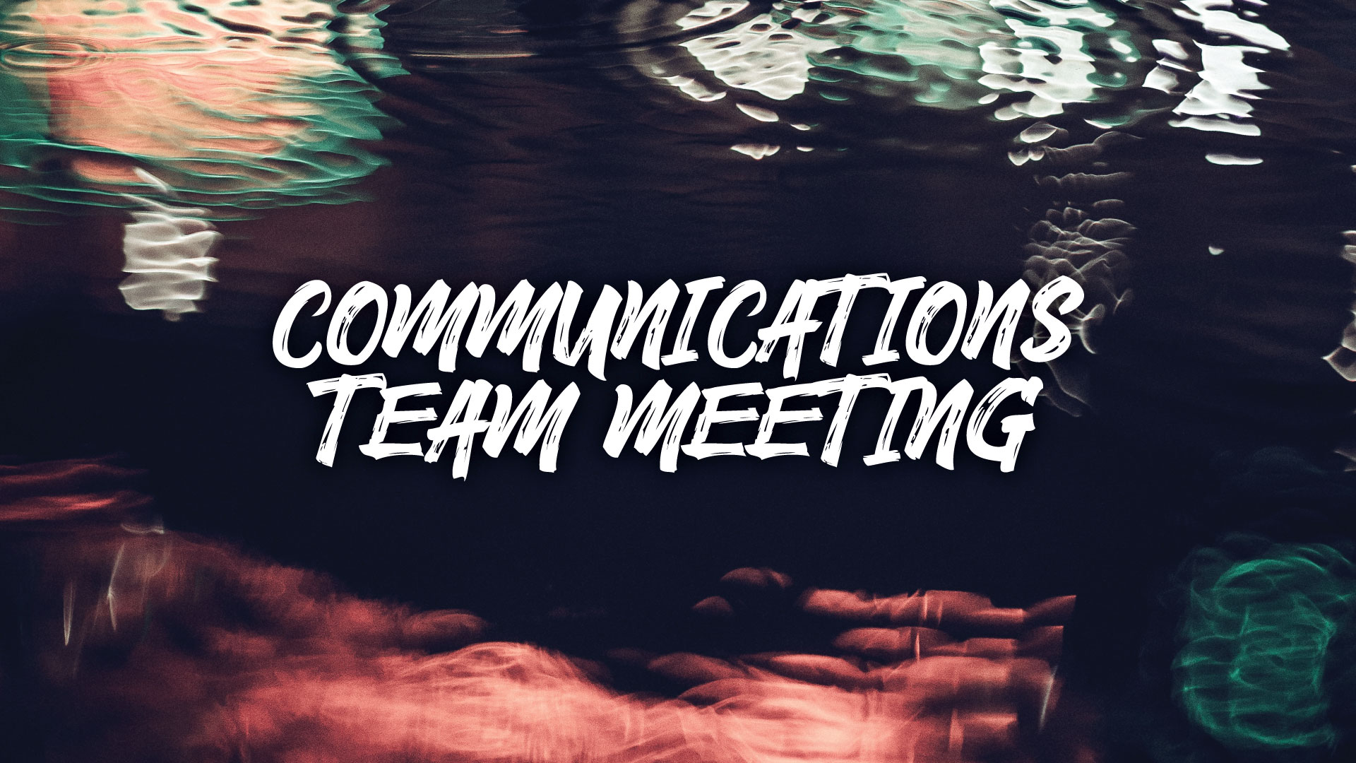 CUIP Communications Team — Prayer & Peacemaking Events Admin