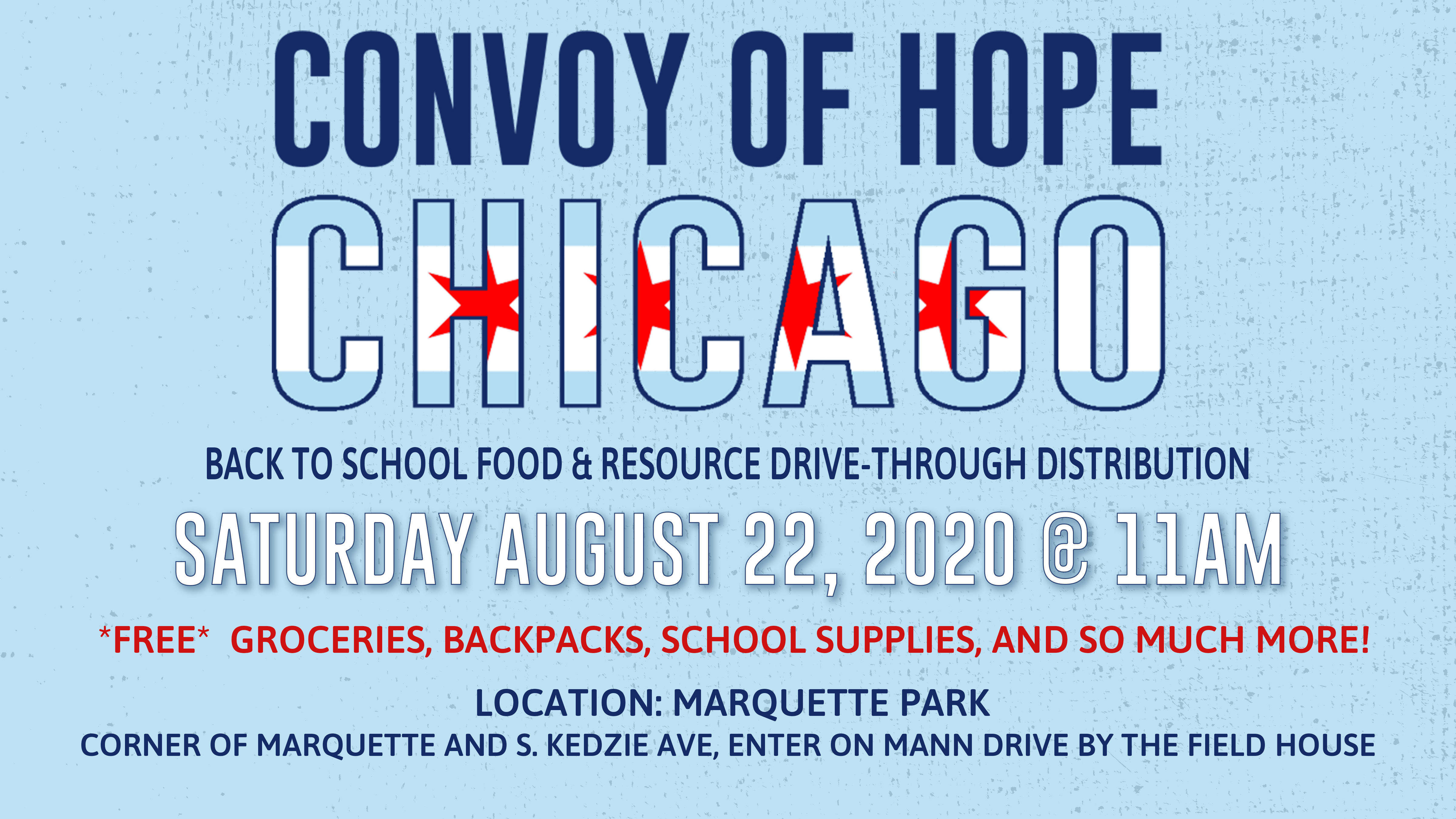 Convoy of Hope Chicago 2020