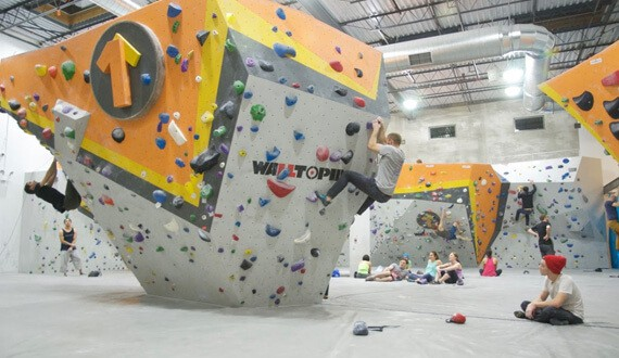 Winter Indoor Climbing: First Ascent