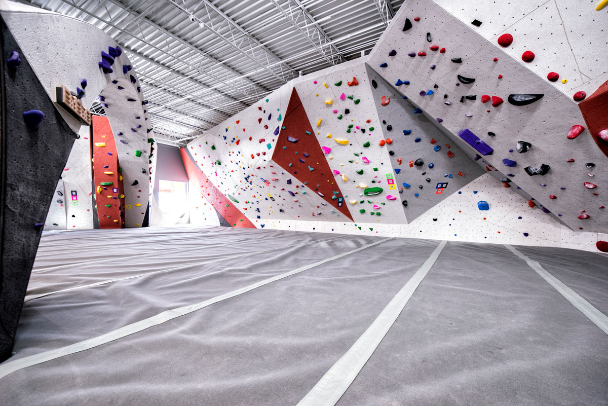 Winter Indoor Climbing: Vertical Endeavors