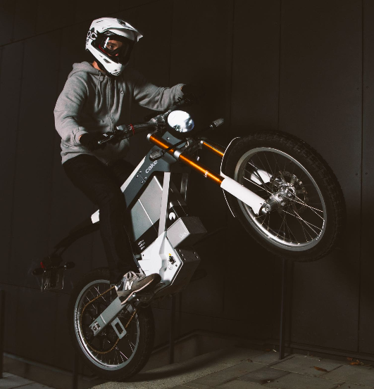 CCC x Cake Electric Motorcycles
