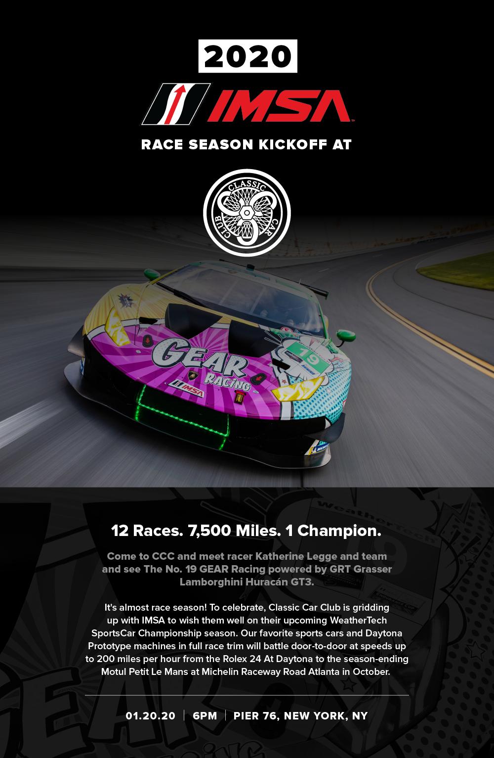 IMSA Race Season Kickoff