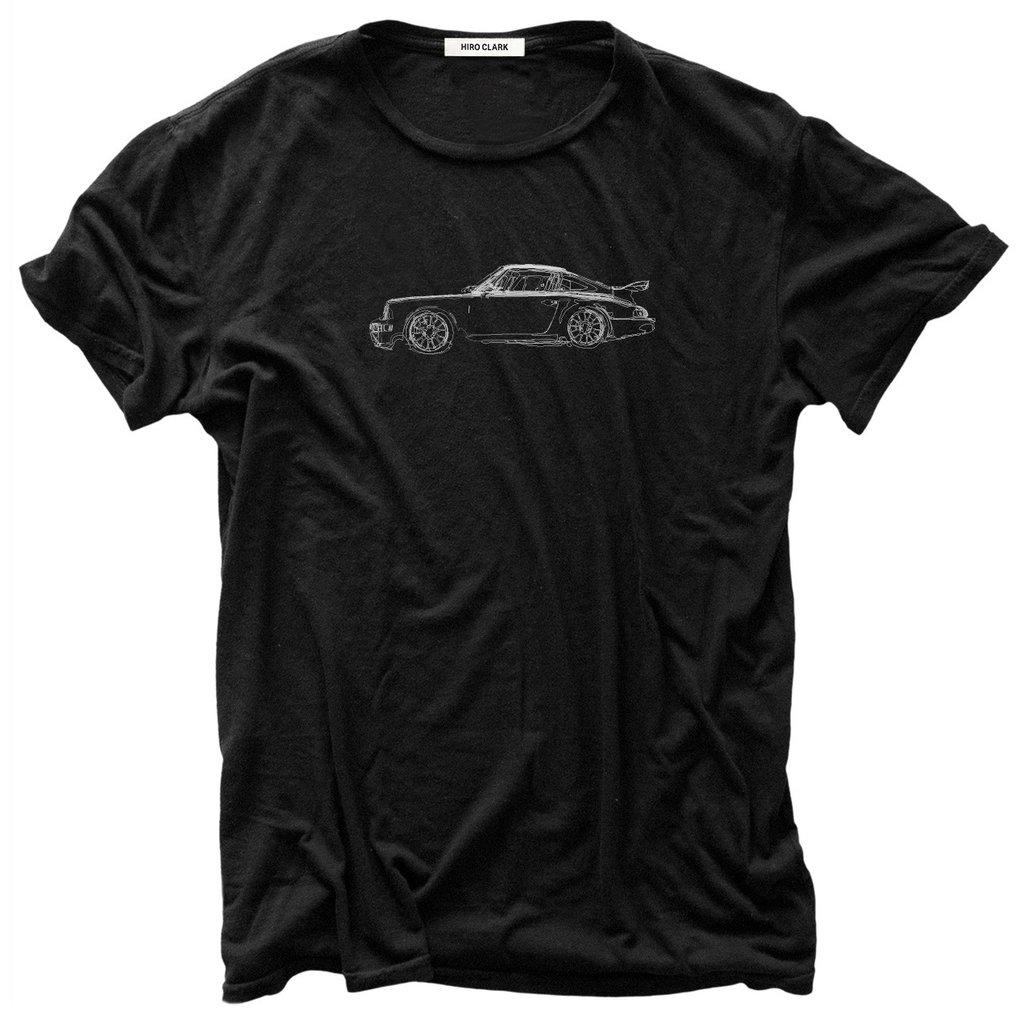 964 T-Shirt Black - Medium